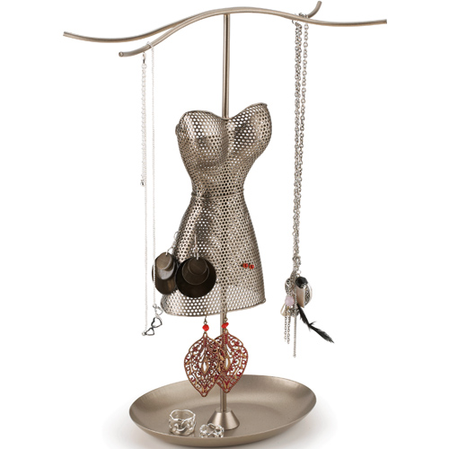Umbra Venus Jewelry Stand - Satin Nickel Image