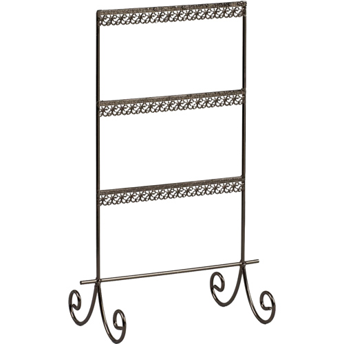 Metal Jewelry Earring Holder Stand Image