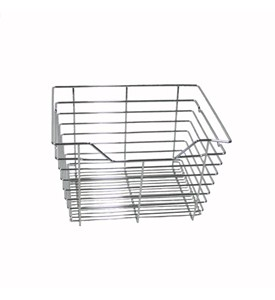17.5 in x 11 in Wire Basket Drawer - Chrome Image