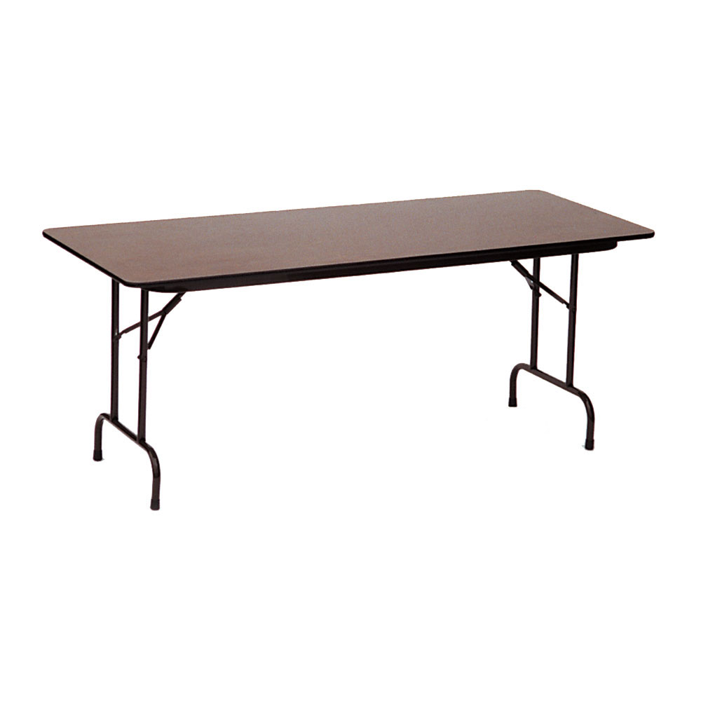 24x60 melamine top folding table in folding tables. Black Bedroom Furniture Sets. Home Design Ideas