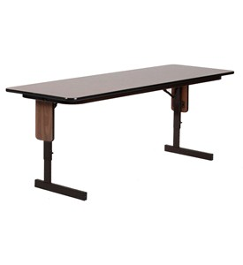 24x72 Adjustable Panel Leg Seminar Table by Correll Image