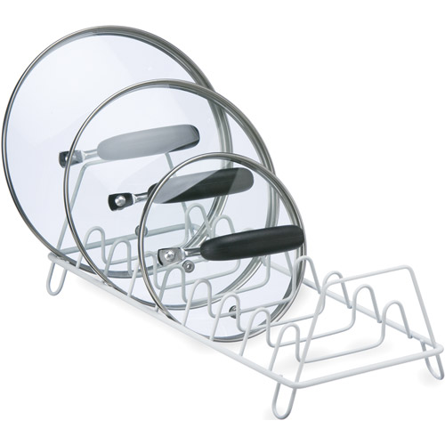 Wire Lid Storage Rack Image