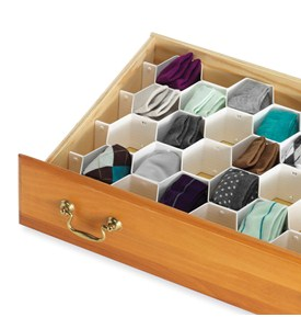 Honeycomb Drawer Organizer (Set of 8) Image