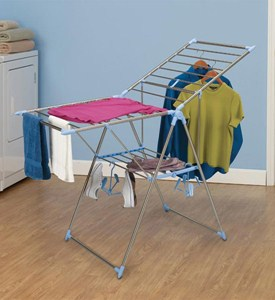 Laundry Folding Drying Rack Image