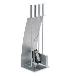 Blomus Stainless Steel Fireplace Tool Set Image