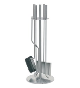 Stainless Steel Fireplace Tool Set Image