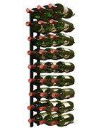 27-Bottle Triple Row Wine Rack