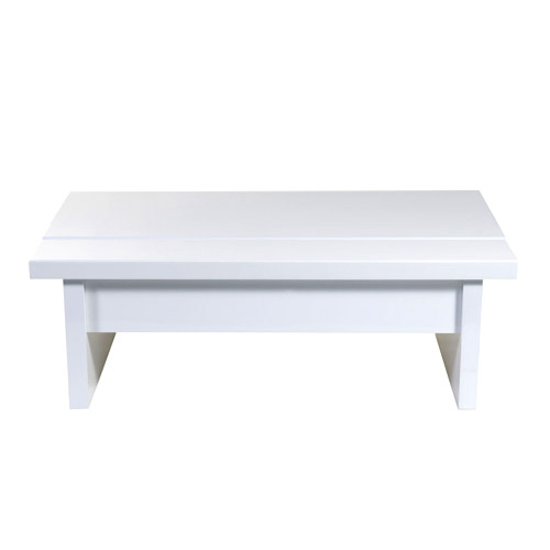 Contemporary Storage Coffee Table In Accent Tables