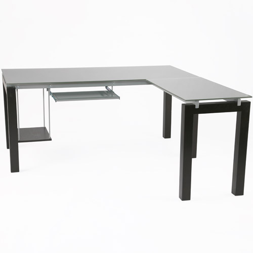 Shaped Computer Desk in Desks and Hutches