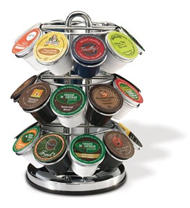 Rotating 27 K-Cup Storage and Display Rack Image