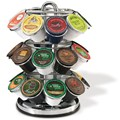 Rotating 27 K-Cup Storage and Display Rack