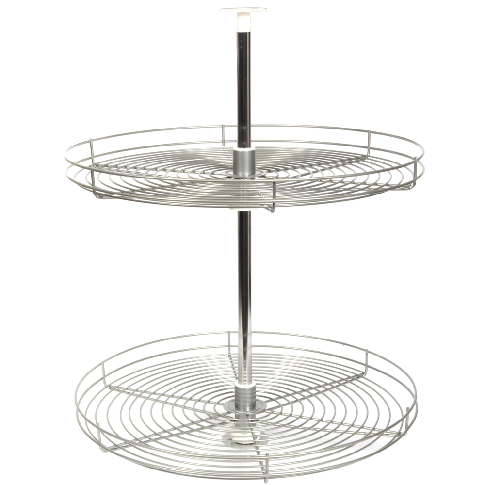 28 Inch Cabinet Lazy Susan Wire Full Round In Cabinet