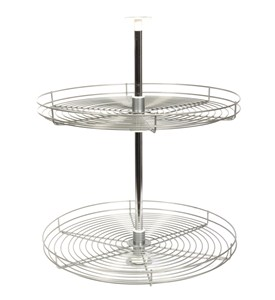 28 Inch Cabinet Lazy Susan - Wire - Full-Round Image