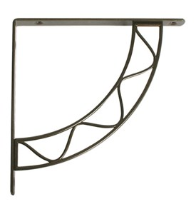 Stockton 8 Inch Shelf Bracket - Antique Bronze Image