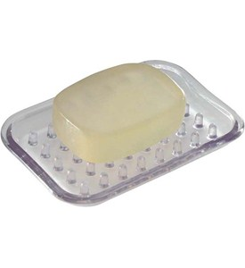 InterDesign Clear Soap Dish Image