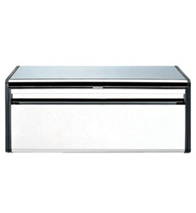 Fall Front Matte Steel Bread Box Image