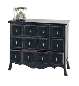 3 Drawer Asian Storage Chest by Wayborn - 4327 Image