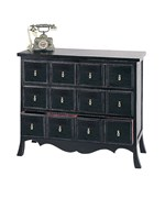 3 Drawer Asian Storage Chest by Wayborn - 4327