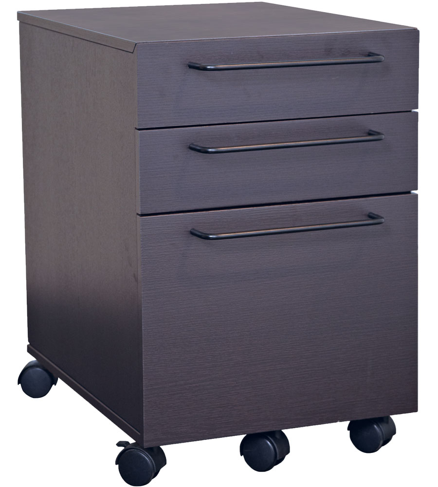 3 Drawer Mobile File Cabinet In File Cabinets