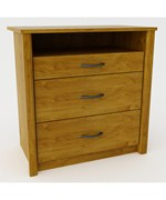 3-Drawer Media Dresser by Ameriwood