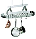 3 Foot Oval Hanging Pot Rack