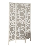 3 Panel Folding Screen - Bubble Design