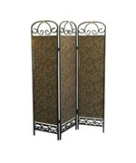 3-Panel Room Divider - Antique Gold by O.R.E.
