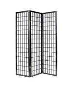 3-Panel Room Divider - Classic Shoji Screen by Coaster