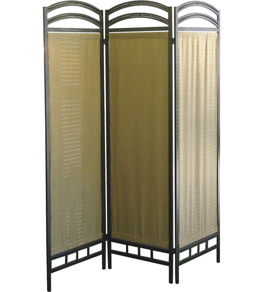 Panel Room Dividers : Panel room divider pewter in dividers