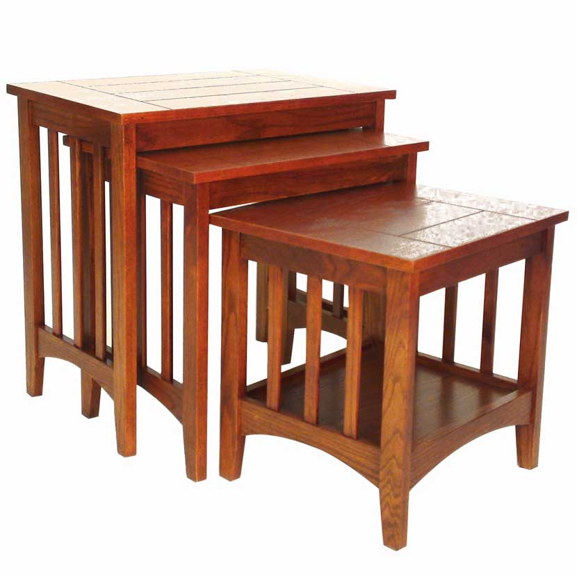 Hugo Nesting Tables ~ Piece hugo nesting tables in table sets