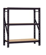 3-Shelf Heavy Duty Steel Welded Rack - by Edsal - ERZ601866PB3