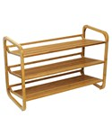 3 Tier Bamboo Shoe Rack by Oceanstar