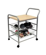 3-Tier Metal Trolley by O.R.E.