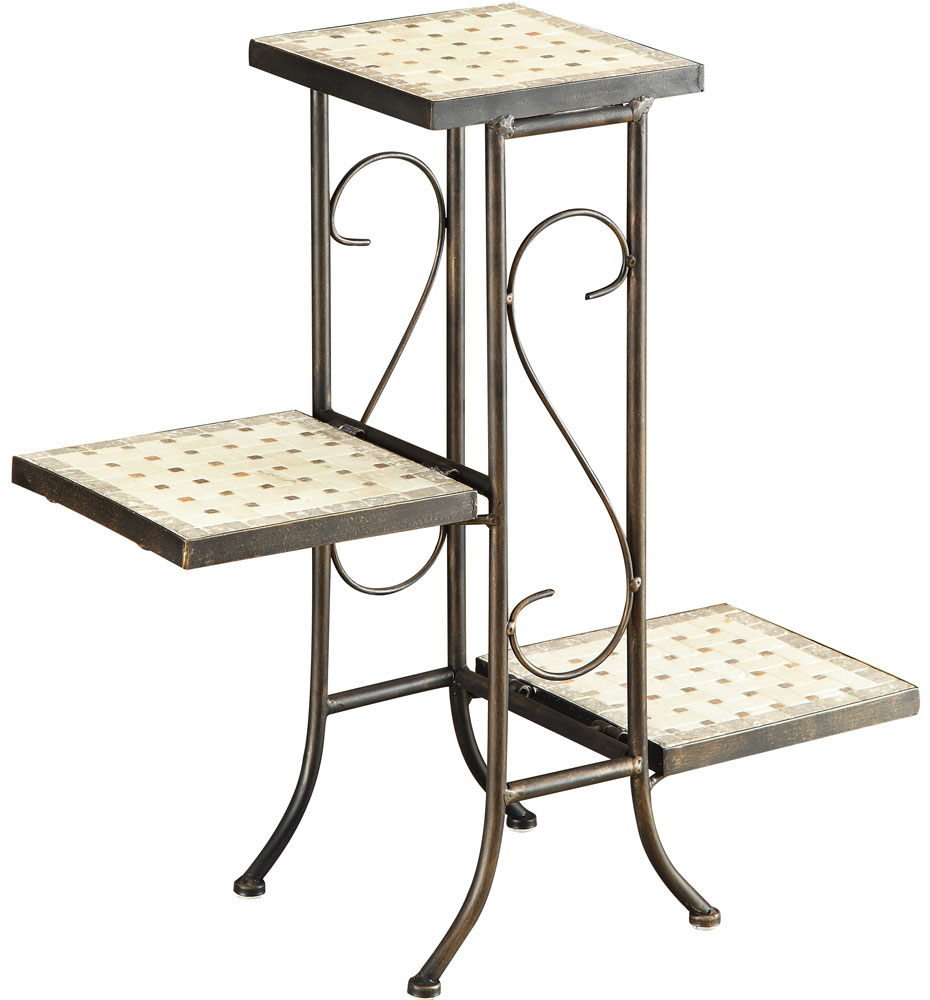 3 Tier Plant Stand In Indoor Plant Stands