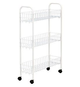 3-Tier Slim Laundry Cart Image