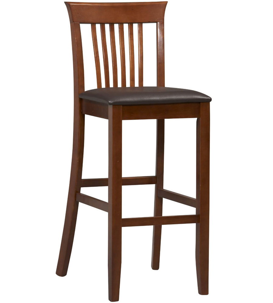 30 Inch Craftsman Bar Stool In Wood Bar Stools