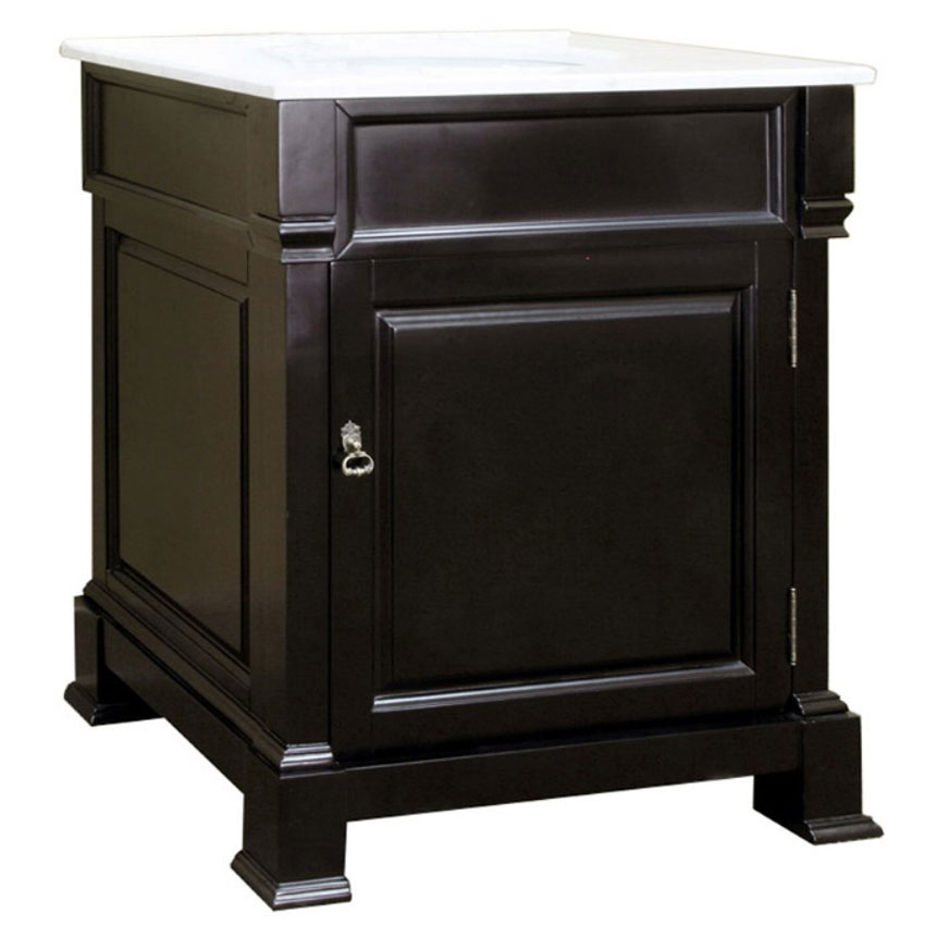 30 Inch Traditional Single Sink Vanity In Bathroom Vanities