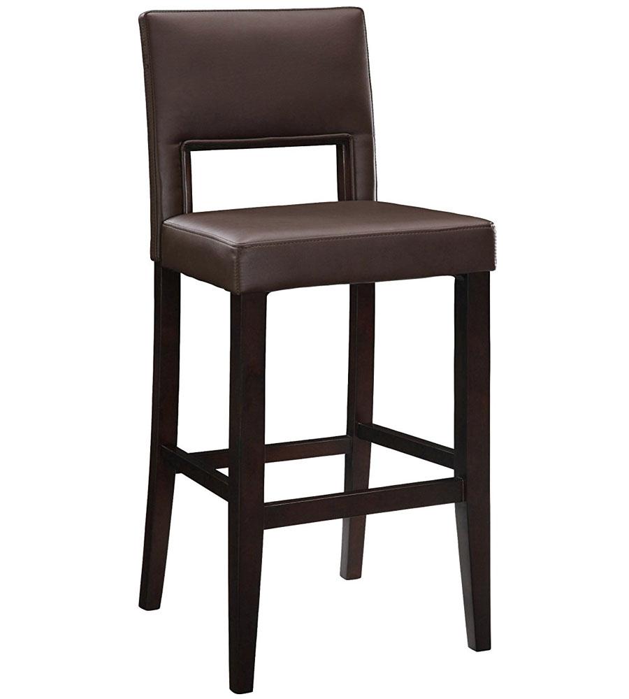 30 Inch Vega Bar Stool Dark Brown in Counter Height Bar  : 30 inch vega bar stool dark brown from www.organizeit.com size 900 x 1000 jpeg 50kB