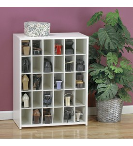 30 Pair Medium Shoe Cubby Image