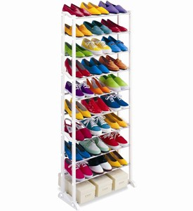 30 Pair Shoe Rack Image