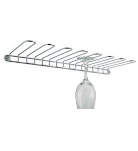 Wall Mount Wine Glass Rack Image
