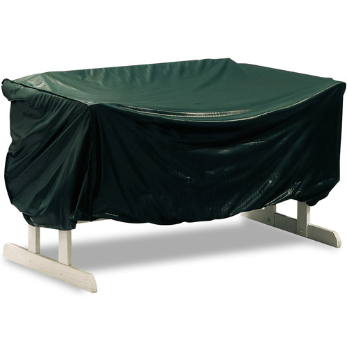 Reversible Vinyl Patio Glider Cover in Patio Furniture Covers
