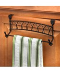 Twist Over Cabinet Towel Bar