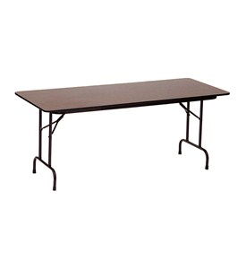 30x60 Melamine Top Folding Table by Correll Image