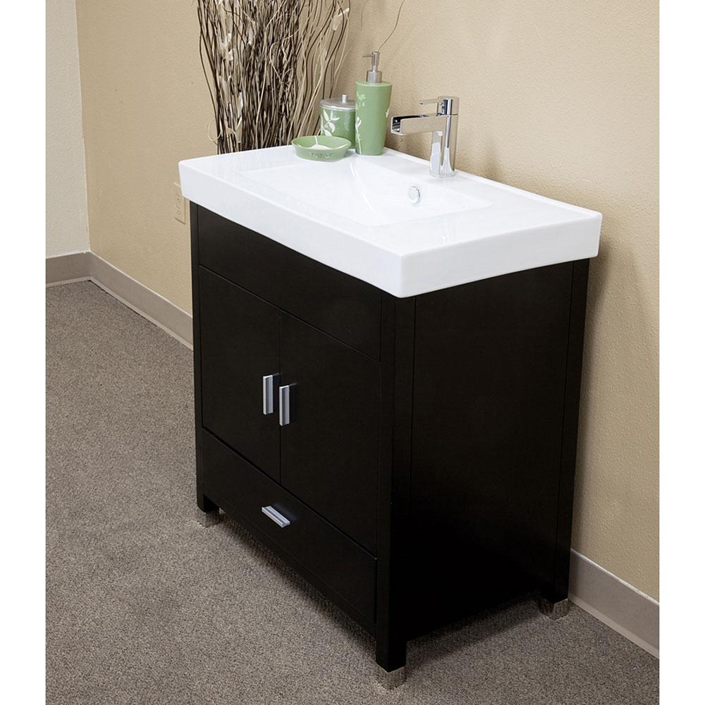 31.5 Inch Single Sink Vanity Wood by Bellaterra Home in ...