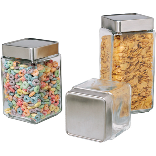 stackable glass kitchen canisters in kitchen canisters the polished pebble modern country style kitchen storage