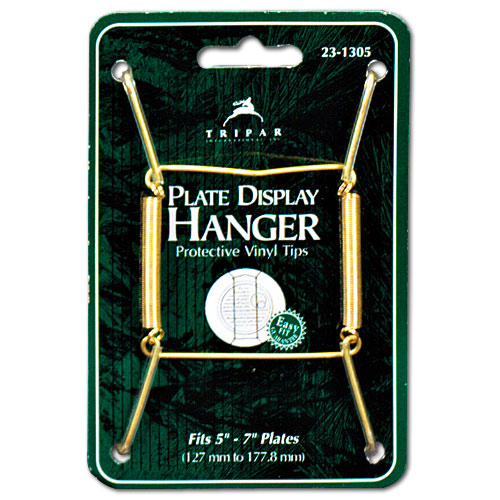 Plate Display Hanger - 5 to 7 Inch in Decorative Plate Racks