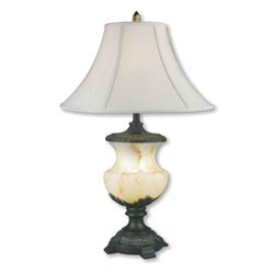 32 Inch Alabaster Table Lamp by O.R.E. Image