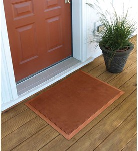 24x32 Shoe Sweeping Rubber Door Mat by Superior Manufacturing Image