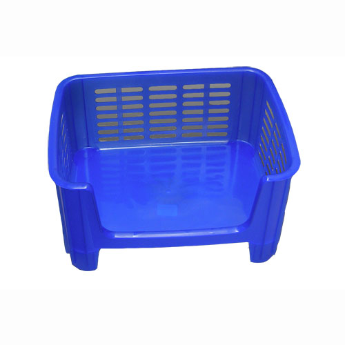 stackable storage bin blue frost image